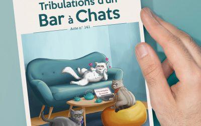 Tribulations d'un Bar à Chats, livre par Jimmy James